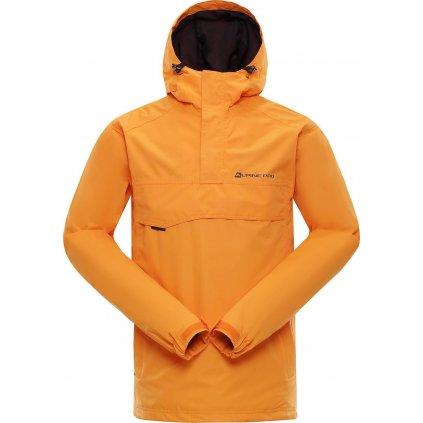 Pánská outdoorová bunda ALPINE PRO Celest oranžová
