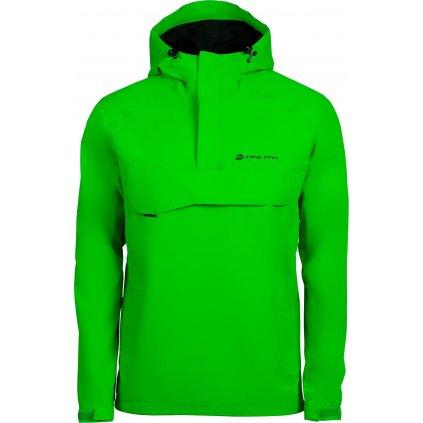 Pánská outdoorová bunda ALPINE PRO Celest zelená