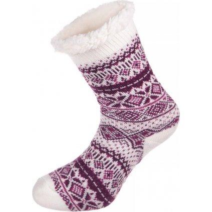 Ponožky ALPINE PRO Sinnir 2 fialová