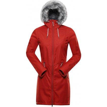 Dámský softshellový kabát ALPINE PRO Priscilla 4 Ins. červená