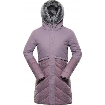 Dámský zateplený kabát ALPINE PRO Tessa 4 fialová