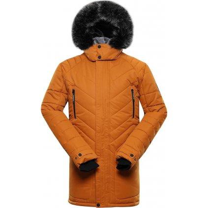 Pánská zimní bunda ALPINE PRO Icyb 6 oranžová