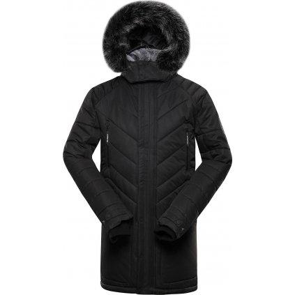 Pánská zimní bunda ALPINE PRO Icyb 6 černá