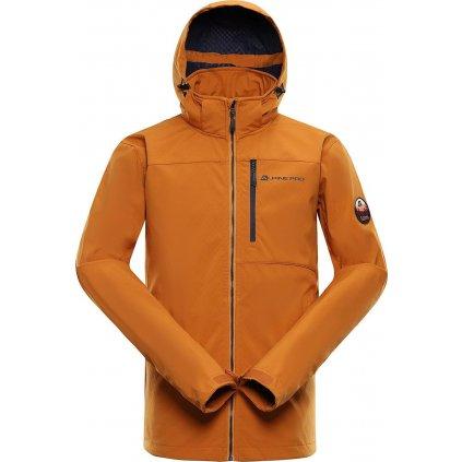 Pánská softshellová bunda ALPINE PRO Nootk 7 oranžová