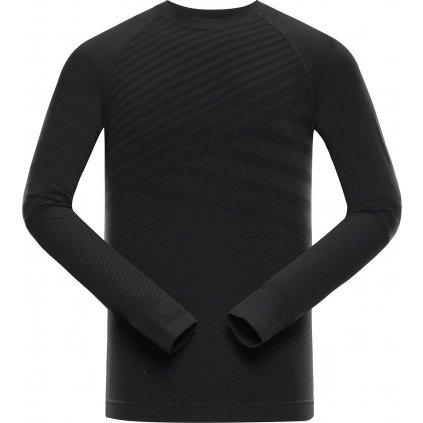 Pánské funkční triko ALPINE PRO Krathis 5 černá