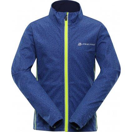 Dětská softshellová bunda ALPINE PRO Technico 2 modrá