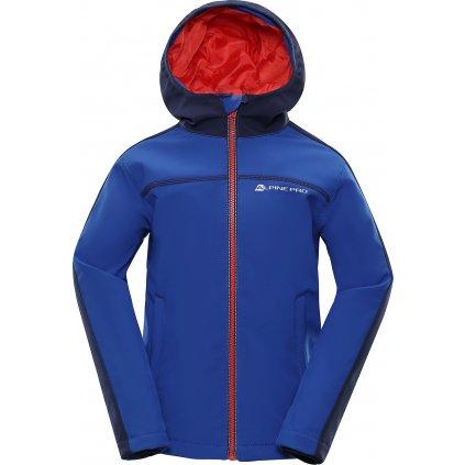 Dětská softshellová bunda ALPINE PRO Nootko 2 Ins. modrá
