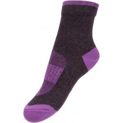 Dětské ponožky ALPINE PRO Rapid 2 fialová