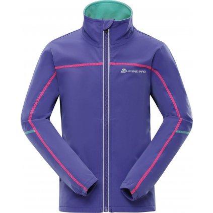 Dětská softshellová bunda ALPINE PRO Technico fialová