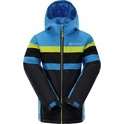 Dětská lyžařská bunda ALPINE PRO Wiremo 2 modrá