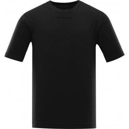 Pánské funkční triko ALPINE PRO Bamb černá