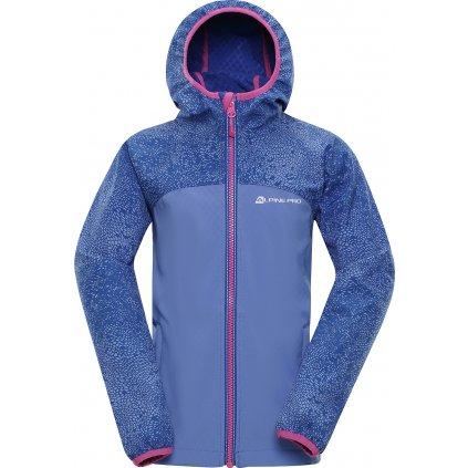 Dětská softshellová bunda ALPINE PRO Nootko 8 modrá