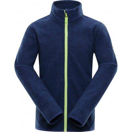 Dětský fleecový svetr ALPINE PRO Hobo 2 modrá
