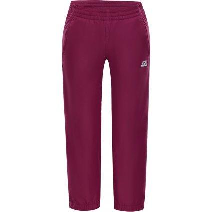 Dětské nepromokavé kalhoty ALPINE PRO Sesto 3 Ins. růžová
