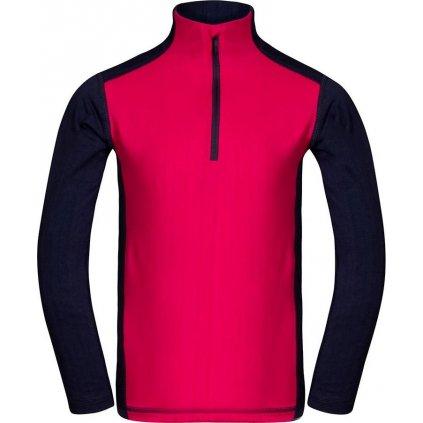 Dětské funkční triko ALPINE PRO Signoro růžová/modrá