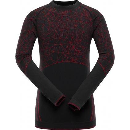 Dětské funkční triko ALPINE PRO Krioso 4 černá