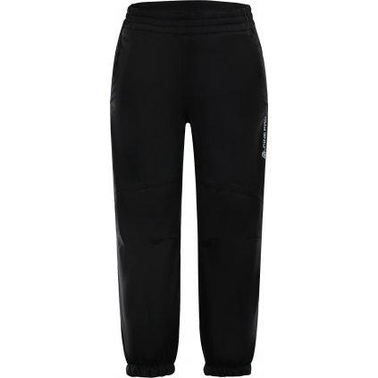 Dětské softshellové kalhoty ALPINE PRO Tisbe 2 Ins. černá