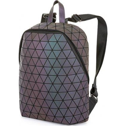 Městský batoh LOAP Triangel fialová