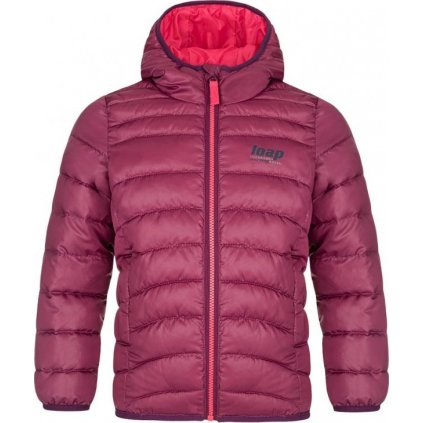 Dětská zimní bunda LOAP Inoy růžová