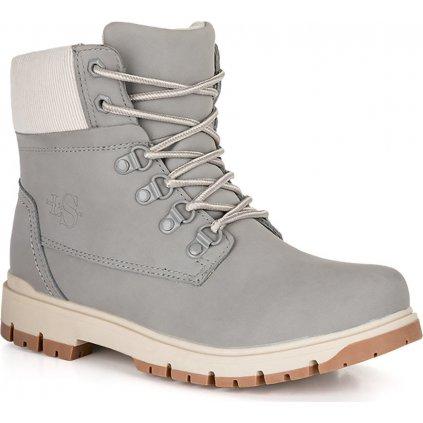 Dámské zimní boty LOAP Sevila šedá