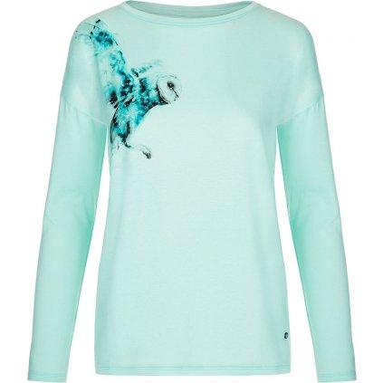 Dámské bavlněné triko LOAP Alaba modrá