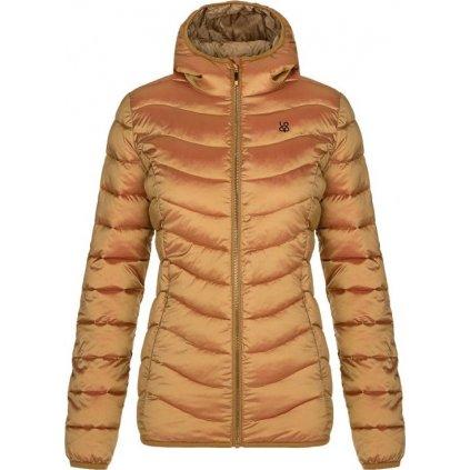 Dámská zimní bunda do města LOAP Idrosa oranžová
