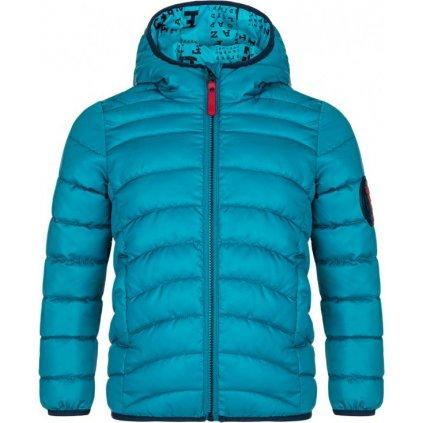 Dětská zimní bunda LOAP Inucon modrá