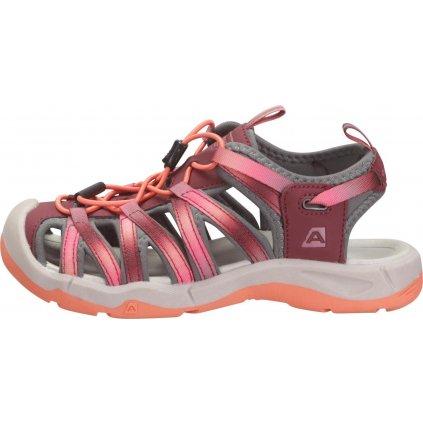 Dětské sandály ALPINE PRO Lancastero 2 růžová
