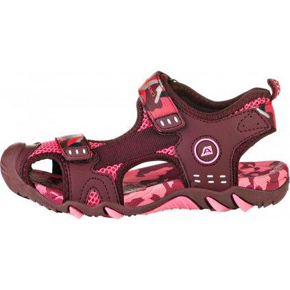 Dětské sandály ALPINE PRO Drussilo růžová