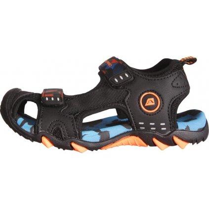 Dětské sandály ALPINE PRO Drussilo černá