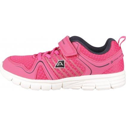 Dětská sportovní obuv ALPINE PRO Kagano růžová