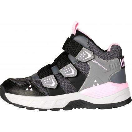Dětská obuv ALPINE PRO Gambello černá