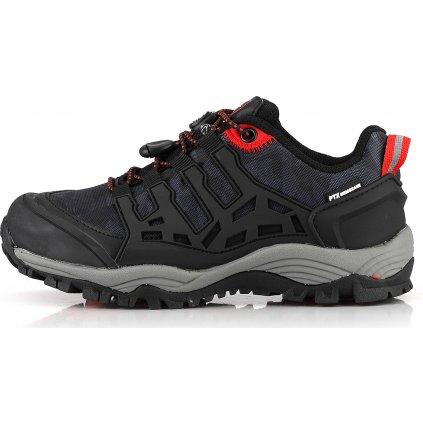 Dětská outdoorová obuv ALPINE PRO Golovino černá