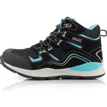 Dětská outdoorová obuv ALPINE PRO Sibeal černá