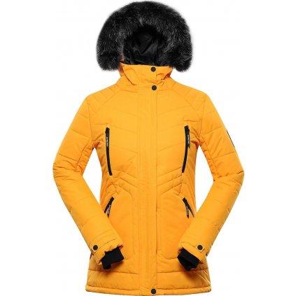 Dámská zimní bunda ALPINE PRO Icyba 6 oranžová
