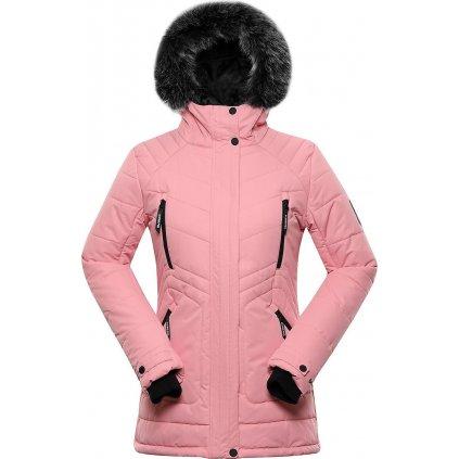 Dámská zimní bunda ALPINE PRO Icyba 6 růžová