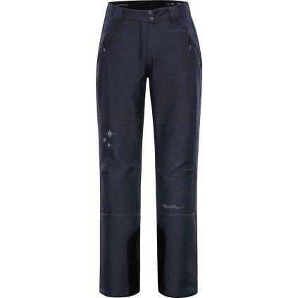 Dámské softshellové kalhoty ALPINE PRO Karia 4 šedá/modrá