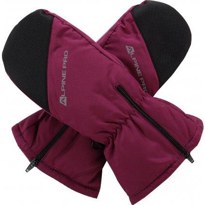 Dětské rukavice ALPINE PRO Hango fialová