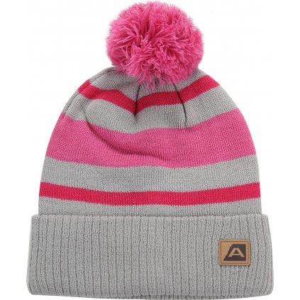 Zimní čepice ALPINE PRO Bakarne růžová