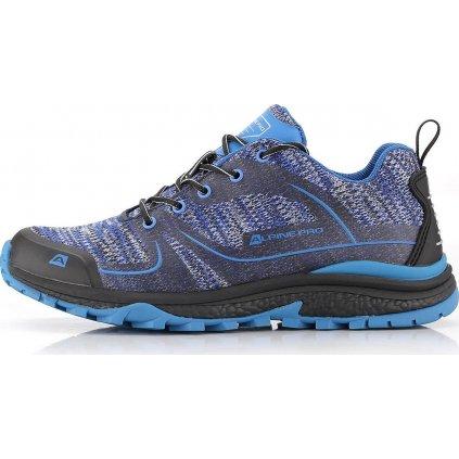 Unisex outdoorová obuv ALPINE PRO Feeny modrá