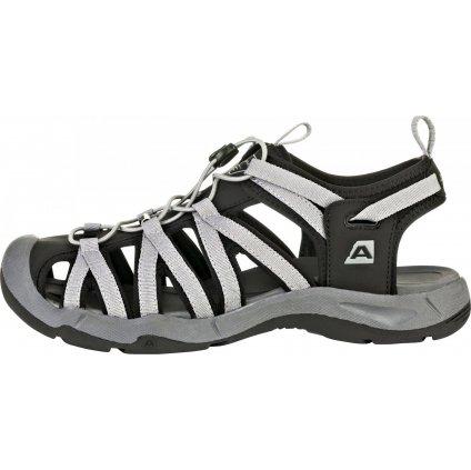 Letní sandály ALPINE PRO Lancaster 3 černá