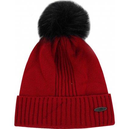 Zimní čepice ALPINE PRO Kasce červená