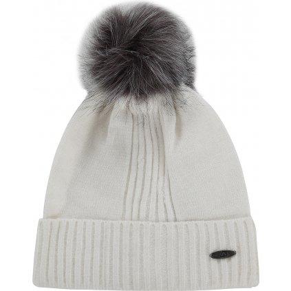 Zimní čepice ALPINE PRO Kasce bílá