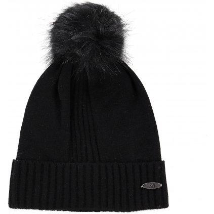 Zimní čepice ALPINE PRO Kasce černá
