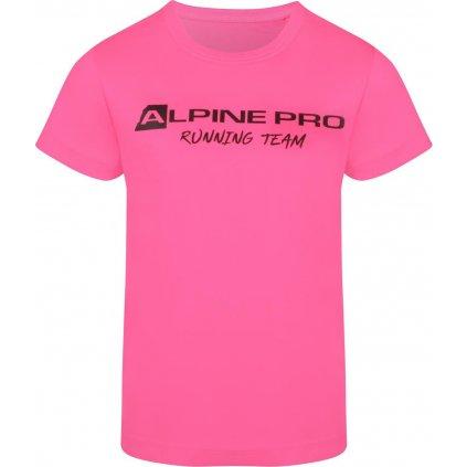 Dětské funkční triko ALPINE PRO Runno růžová