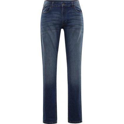 Pánské bavlněné džínové kalhoty ALPINE PRO Pamp 4 modrá