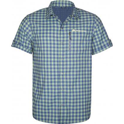 Pánské košile ALPINE PRO Lurin 4 modrá