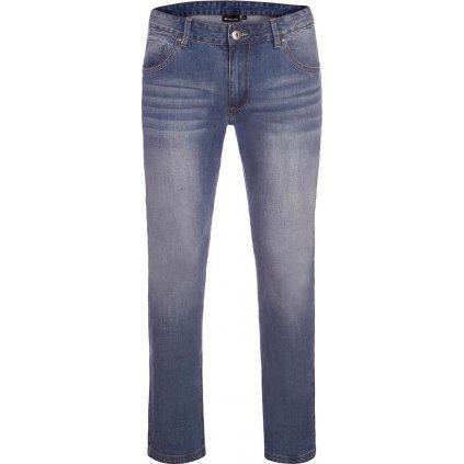 Pánské bavlněné džínové kalhoty ALPINE PRO Pamp 2 modrá
