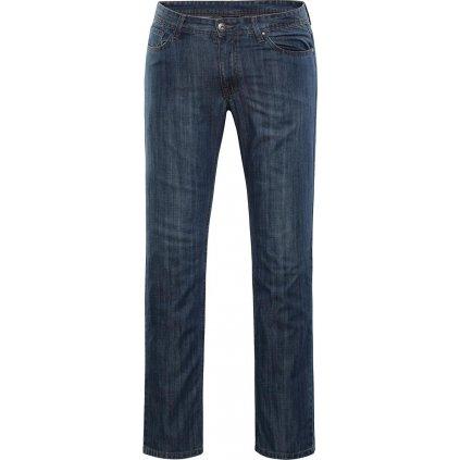 Pánské bavlněné džínové kalhoty ALPINE PRO Pamp modrá