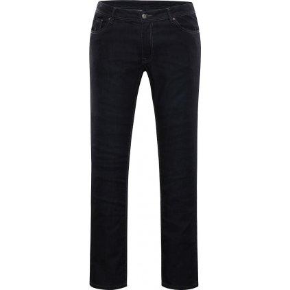 Pánské bavlněné džínové kalhoty ALPINE PRO Pamp 2 černá